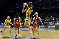 Pulse&rsquo; Ameliaranne Ekenasio in action during the ANZ Premiership - Pulse v Tactix at TSB Arena, Wellington, New Zealand on Monday 14 May 2018.<br /> Photo by Masanori Udagawa. <br /> www.photowellington.photoshelter.com