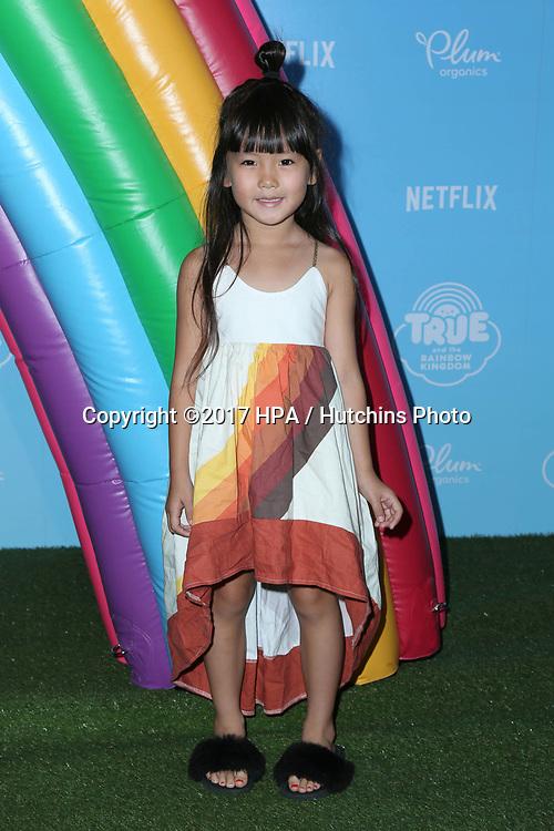 LOS ANGELES - AUG 10:  Zooey Miyoshi at the True and the Rainbow Kingdom Series LA Premiere at the Pacific Theater At The Grove on August 10, 2017 in Los Angeles, CA
