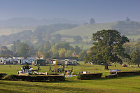 Cross-country phase of equine event, Oxfordshire, United Kingdom