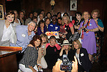"""Denise Pence (Guiding Light """"Katie Parker""""),  Constance McCashan (Knots Landing """"Laura Avery Sumner"""" were a part of The Rehearsal Club Centennial Week starting on June 27, 2013 at Sardis. The Rehearsal Club started in 1913 with this year being 100 years. (Photo by Sue Coflin/Max Photos)"""