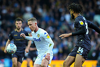 Leeds United's Adam Forshaw shields the ball from Sheffield Wednesday's Michael Hector<br /> <br /> Photographer Alex Dodd/CameraSport<br /> <br /> The EFL Sky Bet Championship - Leeds United v Sheffield Wednesday - Saturday 13th April 2019 - Elland Road - Leeds<br /> <br /> World Copyright © 2019 CameraSport. All rights reserved. 43 Linden Ave. Countesthorpe. Leicester. England. LE8 5PG - Tel: +44 (0) 116 277 4147 - admin@camerasport.com - www.camerasport.com