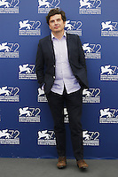 Nicolas Saada attends a photocall for the movie 'Taj Mahal' during the 72nd Venice Film Festival at the Palazzo Del Cinema in Venice, Italy, September 10, 2015.<br /> UPDATE IMAGES PRESS/Stephen Richie