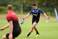 Freddie Burns of Bath Rugby in action. Bath Rugby pre-season training on August 8, 2018 at Farleigh House in Bath, England. Photo by: Patrick Khachfe / Onside Images