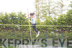 Una Marley goes for the High Jump and does it at the Gneeveguilla Athletic Club,34th annaul open juvenile sports at An Riocht Athletic Track, Castleisland on Sunday.....