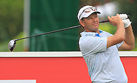 Retief Goosen (RSA) on the 12th tee during Round 3 of the CIMB Classic in the Kuala Lumpur Golf & Country Club on Saturday 1st November 2014.<br /> Picture:  Thos Caffrey / www.golffile.ie