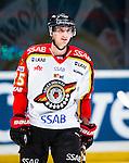 Stockholm 2014-01-08 Ishockey SHL AIK - Lule&aring; HF :  <br />  Lule&aring;s Anton Hedman <br /> (Foto: Kenta J&ouml;nsson) Nyckelord:  portr&auml;tt portrait