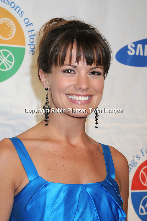 Melissa Claire Egan of All My Children ..attending Samsung's 8th Annual Four Seasons of Hope Gala on June 16, 2009 at Cipriani's Wall Street in New York City. ..Robin Platzer, Twin Images