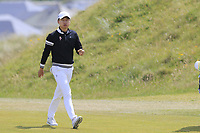 Jeunghun Wang (KOR) on the 6th hole during Thursday's Round 1 of the Dubai Duty Free Irish Open 2019, held at Lahinch Golf Club, Lahinch, Ireland. 4th July 2019.<br /> Picture: Eoin Clarke | Golffile<br /> <br /> <br /> All photos usage must carry mandatory copyright credit (© Golffile | Eoin Clarke)