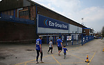 Fans arriving before the game during the championship match at St Andrews Stadium, Birmingham. Picture date 21st April 2018. Picture credit should read: Simon Bellis/Sportimage