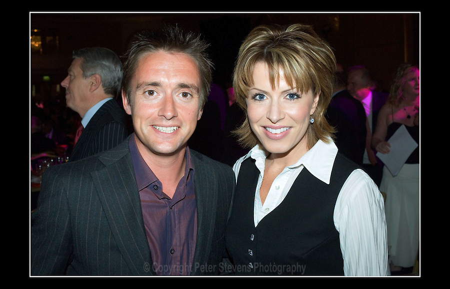Richard Hammond & Natasha Kaplinsky - Apprenticeship Awards 2006 - Hilton Hotel, Park Lane, London W1 - 15th June 2006