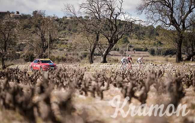breakaway group<br /> <br /> Stage 6: Peynier to Brignoles (176km)<br /> 77th Paris - Nice 2019 (2.UWT)<br /> <br /> ©kramon