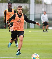 20190903 – TUBIZE , BELGIUM : Belgian pictured during a training session of the U21 youth team of the Belgian national soccer team Red Devils , a training session as a preparation for their first game against Wales in the qualification for the European Championship round in group 9 on the road for Hungary and Slovenia in 2021, Tuesday 3rd of September 2019 at the National training grounds in Tubize , Belgium. PHOTO SPORTPIX.BE | Sevil Oktem