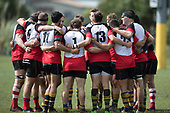Counties Manukau Under 85kg vs Waikato Under 85kg rugby game played at the Patumahoe Domain, on Saturday September 9th 2017. Waikato won the game 8 - 3 after leading 3 - 0 at halftime.<br /> Photo by Richard Spranger.