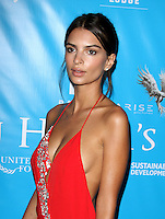10 August 2016 - Los Angeles, California - Emily Ratajkowski. Brett Ratner And David Raymond Host Special Event For UN Secretary-General Ban Ki-moon held at a Private Residence in Beverly Hills. Photo Credit: AdMedia