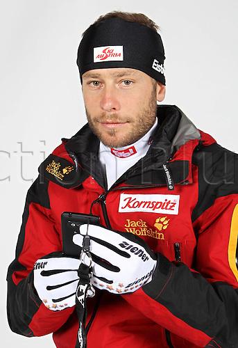 16.10.2010  Winter sports OSV Einkleidung Innsbruck Austria. Biathlon OSV Austrian Ski Federation. Picture shows Daniel Mesotitsch AUT