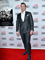 "LOS ANGELES, USA. November 21, 2019: Jon Hamm at the world premiere for ""Richard Jewell"" as part of the AFI Fest 2019 at the TCL Chinese Theatre.<br /> Picture: Paul Smith/Featureflash"