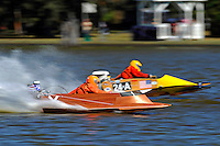 Boat X and 24-A   (outboard hydroplane)