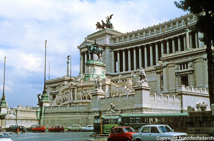 Italy: Rome--Vittorio Emmanuel Monument--15th C.  Photo '82.