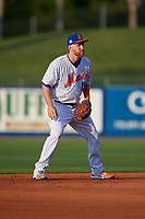 St. Lucie Mets shortstop Todd Frazier (19) during a Florida State League game against the Florida Fire Frogs on April 12, 2019 at First Data Field in St. Lucie, Florida.  Florida defeated St. Lucie 10-7.  (Mike Janes/Four Seam Images)