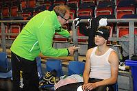 SCHAATSEN: HEERENVEEN: 17-06-2014, IJsstadion Thialf, Zomerijs training, Jac Orie en Sven Kramer,  ©foto Martin de Jong