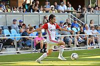 San Jose, CA - Saturday June 17, 2017: Jahmir Hyka during a Major League Soccer (MLS) match between the San Jose Earthquakes and the Sporting Kansas City at Avaya Stadium.