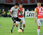El Independiente Santa Fe dio una muestra de autoridad y se impuso 3-1 al Atlas mexicano en partido de la Copa Libertadores de América, con lo que se metió a los octavos de final del certamen continental.