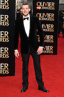 Russell Tovey arrives for the Olivier Awards 2015 at the Royal Opera House Covent Garden, London. 12/04/2015 Picture by: Steve Vas / Featureflash