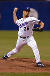 19 June 2004: Montreal Expos right-hander Tony Armas Jr. pitches against the Chicago White Sox at Olympic Stadium in Montreal, Canada. The Expos defeated the White Sox 17-14, bringing an end to the Expos seven-game losing streak. Mandatory Credit: Ed Wolfstein Photo