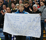 Chelsea's fans show their displeasure at some players<br /> <br /> Barclays Premier League- Chelsea vs Sunderland - Stamford Bridge - England - 19th December 2015 - Picture David Klein/Sportimage