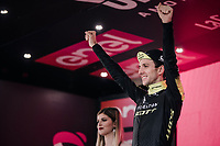 Simon Yates (GBR/Mitchelton-Scott) retains the Maglia Rosa and looks to be the the strongest candidate for the overall victory after the iTT stage 16: Trento &ndash; Rovereto (34.2 km)<br /> <br /> 101th Giro d'Italia 2018