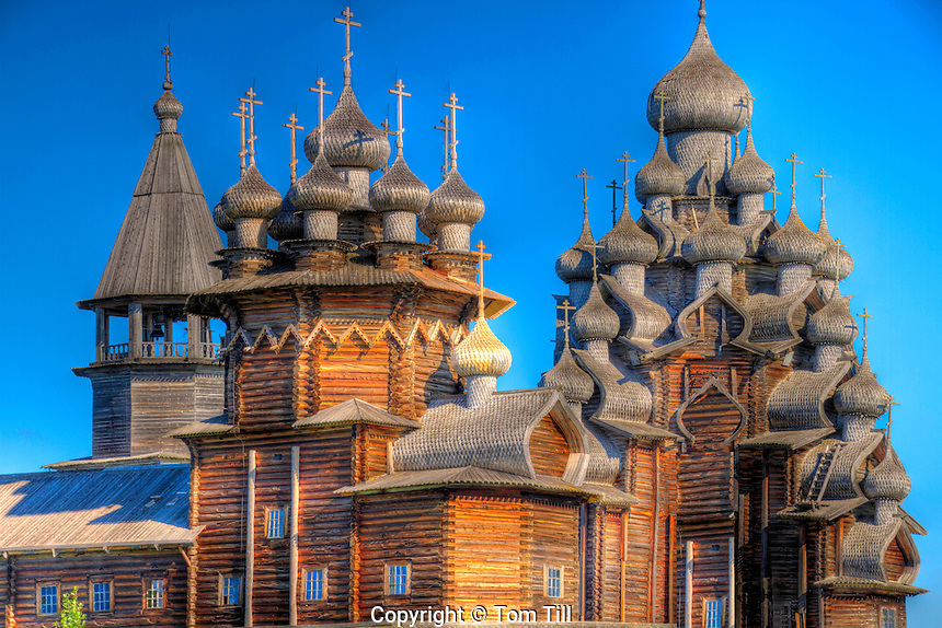 Church of the Transfiguration, Kizhi Island, Russian Federation, Lake Onega, Built 1714, UNESCO World Heritage Site