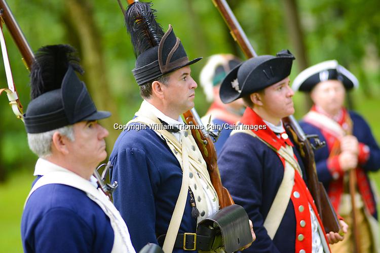 Moland House Revolutionary War Reenactment | CAIN IMAGES