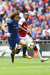 David Luiz of Chelsea and Danny Welbeck of Arsenal during the The FA Community Shield match at Wembley Stadium, London. Picture date 6th August 2017. Picture credit should read: Charlie Forgham-Bailey/Sportimage