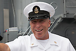 HMC (FMF) John Bucko, Volunteer Training Unit at 29 Palms on the final voyage of the battleship USS Iowa from Berth 51 to its new home at Berth 87 in San Pedro, Los Angeles, CA where it opens as a museum ship in July 2012.
