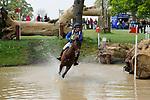 6th May 2017, Kristina Cook riding Calvino II during the Cross Country phase of the 2017 Mitsubishi Motors Badminton Horse Trials, Badminton House, Bristol, United Kingdom. Jonathan Clarke/JPC Images