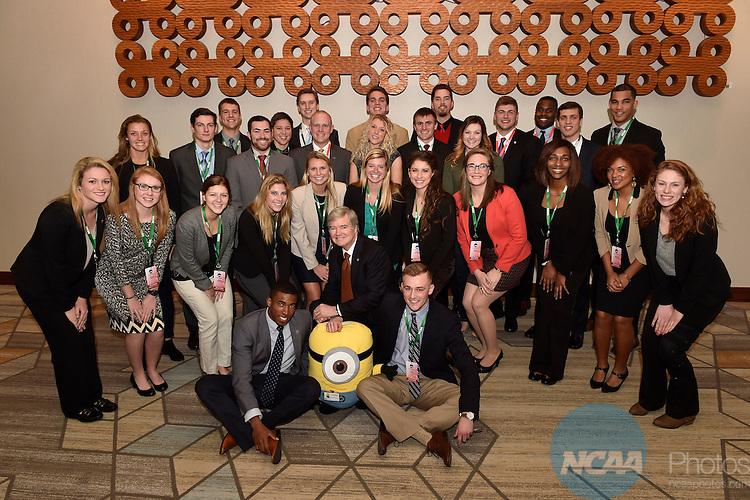 13 JAN 2016: The NCAA Division I SAAC meeting takes place during the 2016 NCAA Convention takes place at the Grand Hyatt  in San Antonio, TX. Justin Tafoya/NCAA Photos