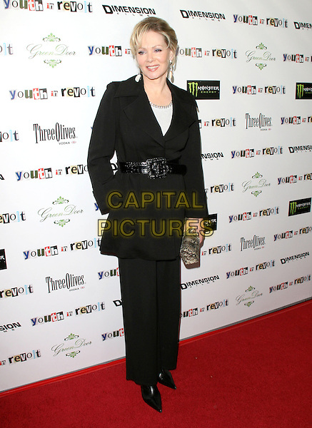 JEAN SMART.The Weinstein Company Film premiere of ''Youth In Revolt'' held at The Mann Chinese 6 Theatre in Hollywood, California, USA..January 6th, 2010.full length black jacket trousers hand in pocket.CAP/RKE/DVS.©DVS/RockinExposures/Capital Pictures.