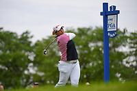 Ariya Jutanugarn (THA) watches her tee shot on 3 during the round 2 of the KPMG Women's PGA Championship, Hazeltine National, Chaska, Minnesota, USA. 6/21/2019.<br /> Picture: Golffile | Ken Murray<br /> <br /> <br /> All photo usage must carry mandatory copyright credit (© Golffile | Ken Murray)