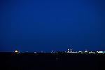 Moonrise over Navy Pier