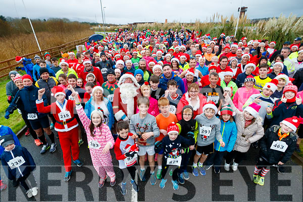 The Santa Run at Tralee Bay Wetlands on Sunday morning last.