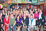 Key to the Door: Louise O'Connor, O'Rahillys Villas, Tralee (seated centre) had her 21st bash in the Huddle Bar, Strand Rd., Tralee last Saturday night with her parents Ed & Marie and many friends and family.