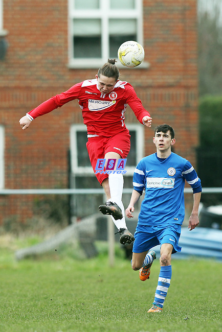 BRIDON ROPES v WELLING UNITED<br /> KENT YOUTH LEAGUE<br /> U16 CAUSEWAY STEEL CHALLENGE CUP<br /> SEMI FINALL<br /> SUNDAY 6TH MARCH 2016