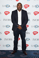 Wayne Hector<br /> at The Ivor Novello Awards 2017, Grosvenor House Hotel, London. <br /> <br /> <br /> &copy;Ash Knotek  D3267  18/05/2017