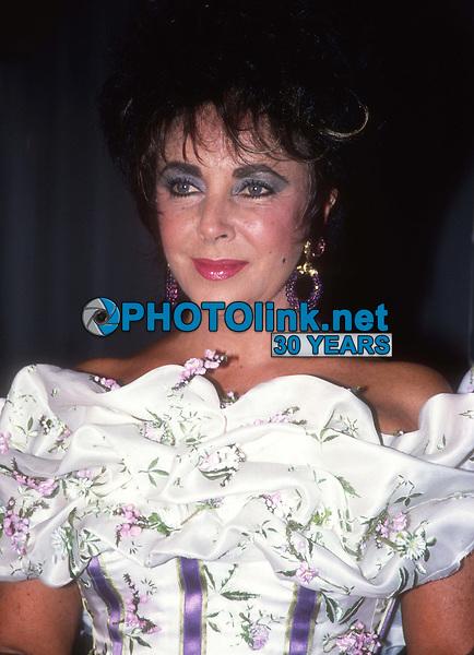 Elizabeth Taylor 1988<br /> Photo By Adam Scull/PHOTOlink.net