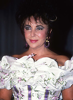 Elizabeth Taylor 1988<br /> Photo By Adam Scull/PHOTOlink.net