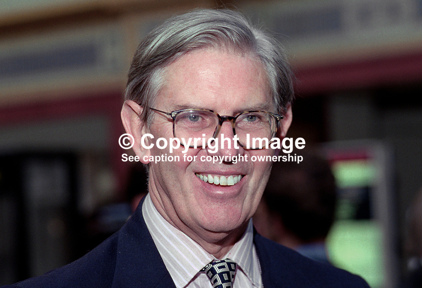 Bill Cash, MP, Conservative Party, UK, 199510189.<br /> <br /> Copyright Image from Victor Patterson,<br /> 54 Dorchester Park, <br /> Belfast, UK, BT9 <br /> <br /> t1: +44 28 9066 1296 (from Rep of Ireland 048 90661296)<br /> t2: +44 28 9002 2446 (from Rep of Ireland 048 9002 2446)<br /> <br /> m: +44 7802 353836<br /> <br /> e: victorpatterson@me.com<br /> www.victorpatterson.com<br /> <br /> Please see my Terms and Conditions of Use at www.victorpatterson.com. It is IMPORTANT that you familiarise yourself with them.<br /> <br /> Images used on the Internet must be visibly watermarked i.e. &copy; Victor Patterson<br /> within the body of the image and copyright metadata must not be deleted. Images <br /> used on the Internet have a size restriction of 4kbs and will be chargeable at current<br />  NUJ rates unless agreed otherwise.<br /> <br /> This image is only available for the use of the download recipient i.e. television station, newspaper, magazine, book publisher, etc, and must not be passed on to any third <br /> party. It is also downloaded on condition that each and every usage is notified within 7 days to victorpatterson@me.com<br /> <br /> The right of Victor Patterson to be identified as the author is asserted in accordance with The Copyright Designs And Patents Act (1988). All moral rights are asserted.