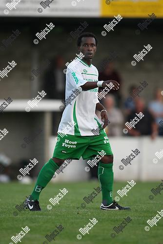 2008-07-23 / Voetbal / seizoen 2008 - 2009 / Dessel Sport / Didier Ndagano..Foto: Maarten Straetemans (SMB)