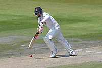 Simon Harmer in batting action for Essex during Lancashire CCC vs Essex CCC, Specsavers County Championship Division 1 Cricket at Emirates Old Trafford on 11th June 2018