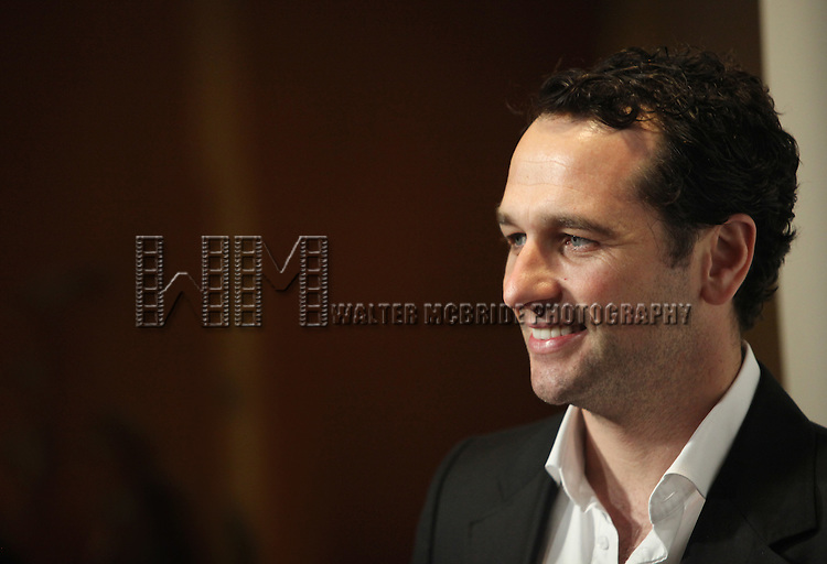 Matthew Rhys.attending the The 78th Annual Drama League Awards at the Mariott Marquis Hotel in New York City on5/18/2012