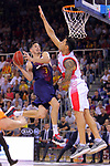 League ACB-ENDESA 2017/2018. Game: 1.<br /> FC Barcelona Lassa vs Baskonia: 87-82.<br /> Thomas Heurtel vs Carlos Delfino.